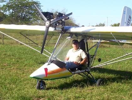 Самолет чертеж легкий
